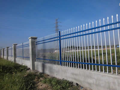 steel fence roll
